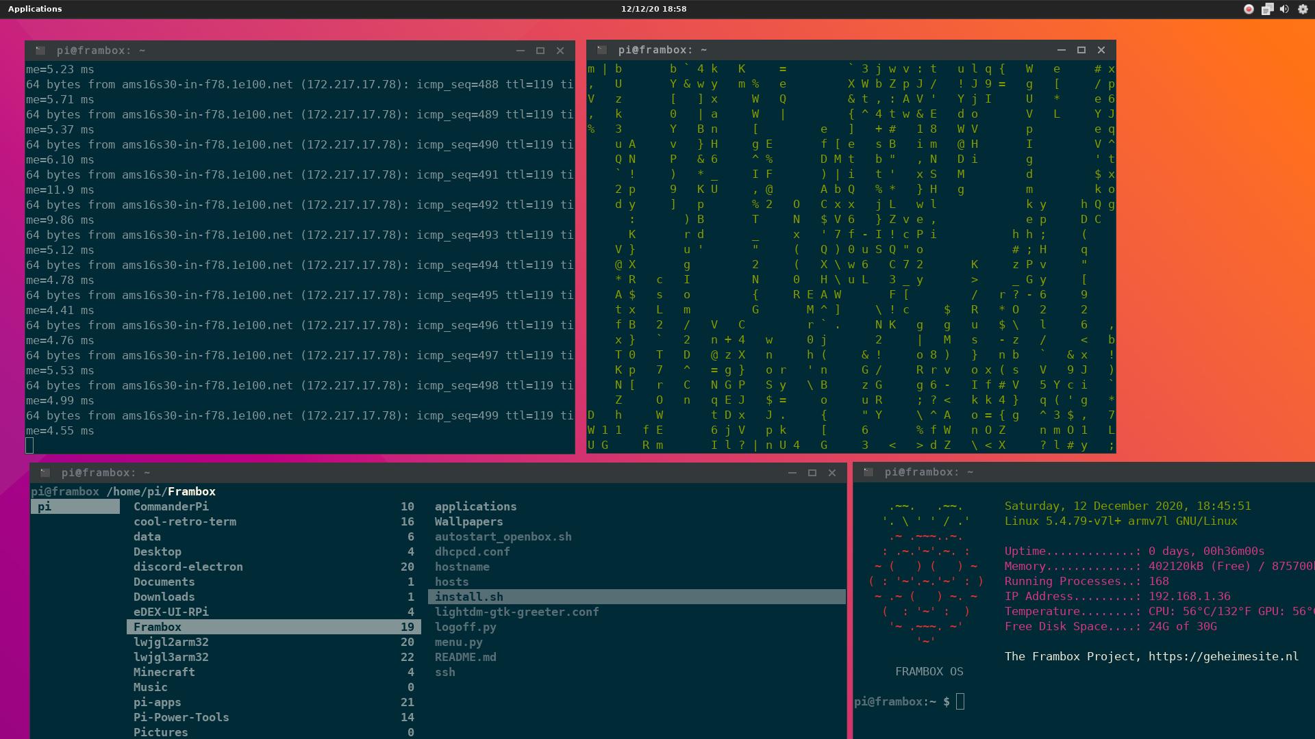 FramboxDesktop Screenshot